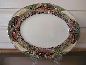 "Myott Son & Co ""Countryside"" Large Platter England 1920 Rare"