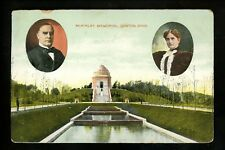 Political President postcard William McKinley Monument Canton OH Ohio Vintage