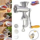 Meat Grinder Multi Mincer Stuffer Hand Manual Sausage Filler Maker Machine US photo