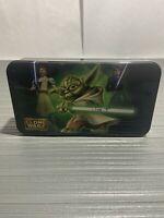 Yoda Tin Lunch Box 2011 Star Wars The Clone Wars