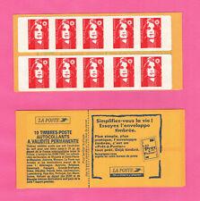 FRANCE CARNET BRIAT - YT 2874-C7 - SAGEM - TVP type1 Essayez l'enveloppe timbrée