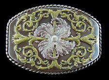 Flower Western Cowboys Cowgirls Flowers Floral Belt Buckles Boucle de Ceinture