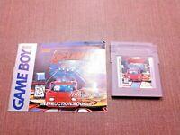 Nintendo Game Boy Cartridge w/ Manual GetAway: High Speed II CLEAN LABEL
