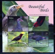PALAU 2019  BEAUTIFUL BIRDS SHEET OF FOUR MINT NEVER HINGED