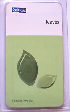 QuicKutz POP UP LEAVES KS-0917 Leaf Tree Nature 2 Metal Cutting Dies Set 2""