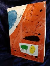 Joan Miro - Jacques Dupin 1961 - Livre Beaux-Arts RARE
