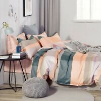 Ardor Gia 100% Cotton Quilt Cover Duvet Doona Set Queen/Pink