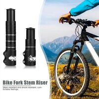 Bicycle Fork Stem Extender Handlebar Riser Extension Adapter US