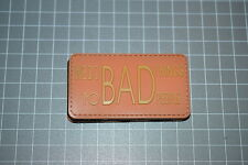 """""""We Do Bad Things To Bad People - Orange"""" PVC Military Morale Patch"""