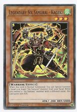Legendary Six Samurai - Kageki SPWA-EN043 Super Rare Yu-Gi-Oh Card 1st Edit New