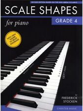 Frederick Stocken Scale Shapes For Piano Grade 4 Learn to Play Tutor MUSIC BOOK