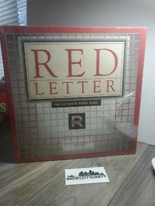 Brand New Sealed  Red Letter Ultimate Word Game Family Tile Game Complete