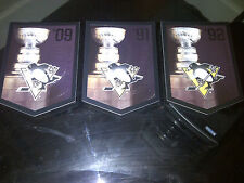 PITTSBURGH PENGUINS Team Set Molson Coors Budweiser Panini Stanley Cup Banners