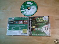 Family Card Games Fun Pack (PlayStation) COMPLETE