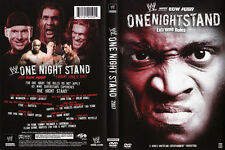 Official WWE One Night Stand 2007 (Pre-Owned DVD)