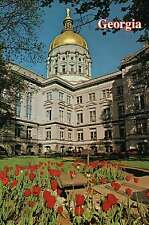 State Capitol Atlanta Georgia, National Historic Landmark, Register HP Postcard