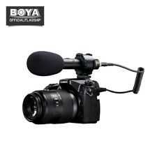 BOYA BY-PVM50 3.5mm Stereo condenser Microphone for DSLR SLR Camera Camcorder