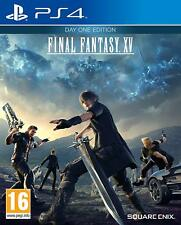 PS4 Jeu Final Fantasy (XV) 15 Day One Edition Inclus Dlc Allemand Verison