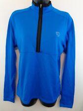 PEARL IZUMI Women Long Sleeve Bike Jersey Sz Medium Blue