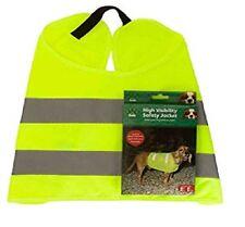 Pet Dog High Visibility Safety Jacket Visible at Night Vest Walking Coat Hi Viz