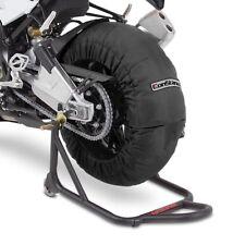 ConStands Motorrad Reifenwärmer Satz vorne - hinten für Superbike Rennstrecke