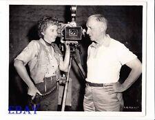 Barbara Stanwyck Director Allan Dwan VINTAGE Photo Cattle Queen Of Montana
