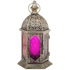 Fabulous Cathedral Top Moroccan Style Lantern Candle Holder