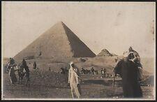EXPEDITION TO EGYPT: SPHINX & PIRAMIDS - Original Vintage Set x 16 Photos - 1925