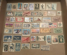 50 Used Stamps From The USA All Different