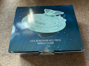 EAGLEMOSS  Star Trek U.S.S. Bonchune Nebula-Class XL Starship XL EDITION 26