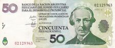 2001 Argentina 50 Pesos Temporary Note