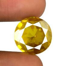26.55 Ct Round Srilankan Yellow Spinel Gems Natural Untreated Certified X9613