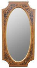Drexel Heritage Modavanti Mediterranean Fruitwood Stenciled Wall Mirror Mantel