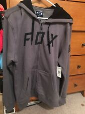 Fox Hoodie Grey Medium NEW!!!