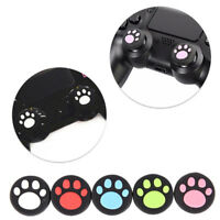 2PCS Silicone Cat Paw Joystick Thumb Stick Grip Cap For PS3 PS4 Xbox One BDAU
