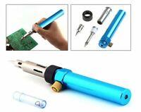 MAXGOODS Gas Blow Torch Soldering Solder Iron Gun Butane Cordless Woolelding Pen
