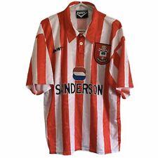 1995 1997 SOUTHAMPTON HOME FOOTBALL SHIRT - L classic vintage