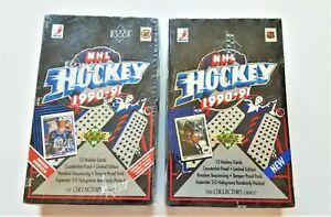 1990-91 UPPER DECK HOCKEY-HIGH/LOW & HIGH SERIES SET- LOT OF 3