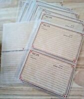 New 22 Disney MICKEY MOUSE RECIPE CARDS in 11 NEW Recipe Pages!