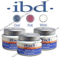 IBD LED/UV Builder Gel Clear / Pink 0.5oz 14g / 2oz 56g Bonder Prim ORIGINAL!!