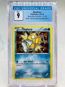 Pokemon XY143 Magikarp from Shiny Mega Gyarados Box MINT Graded CGC 9 (PSA 10)