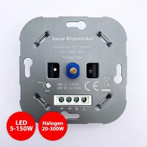 Universal Drehdimmer LED Halogen Dimmer Dimmschalter geeignet Busch Gira Jung