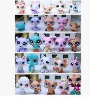 Random Pick Different 5 Pcs/Lot Littlest pet shop Dolls Children LPS figure Toy