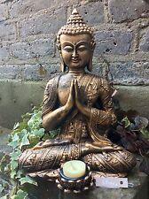 Grande Hermosa detallada estatua budas T/iluminado para el hogar o jardín. desde Sius