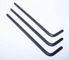 """(3) 1/8"""" Short Hex Key Wrench - KH5103"""