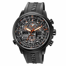 New Citizen Eco Drive Promaster NaviHawk A-T Chrono Atomic Mens Watch JY8035-04E
