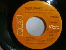 FLOYD CRAMER ( CHET ATKINS / DON TWEEDY ) Seattle / lovin season 74-0209