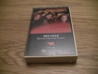 "Bee Gees ""Spirits Having Flown"" Cassette Tape with paper label"