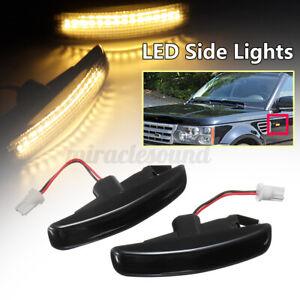 Smoked LED Side Marker Light FOR Land Rover Sport Supercharger 06-13 LR