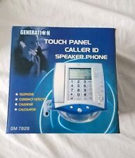 Generation Touch Panel Caller ID Speaker desk phone NIB #GM-7826